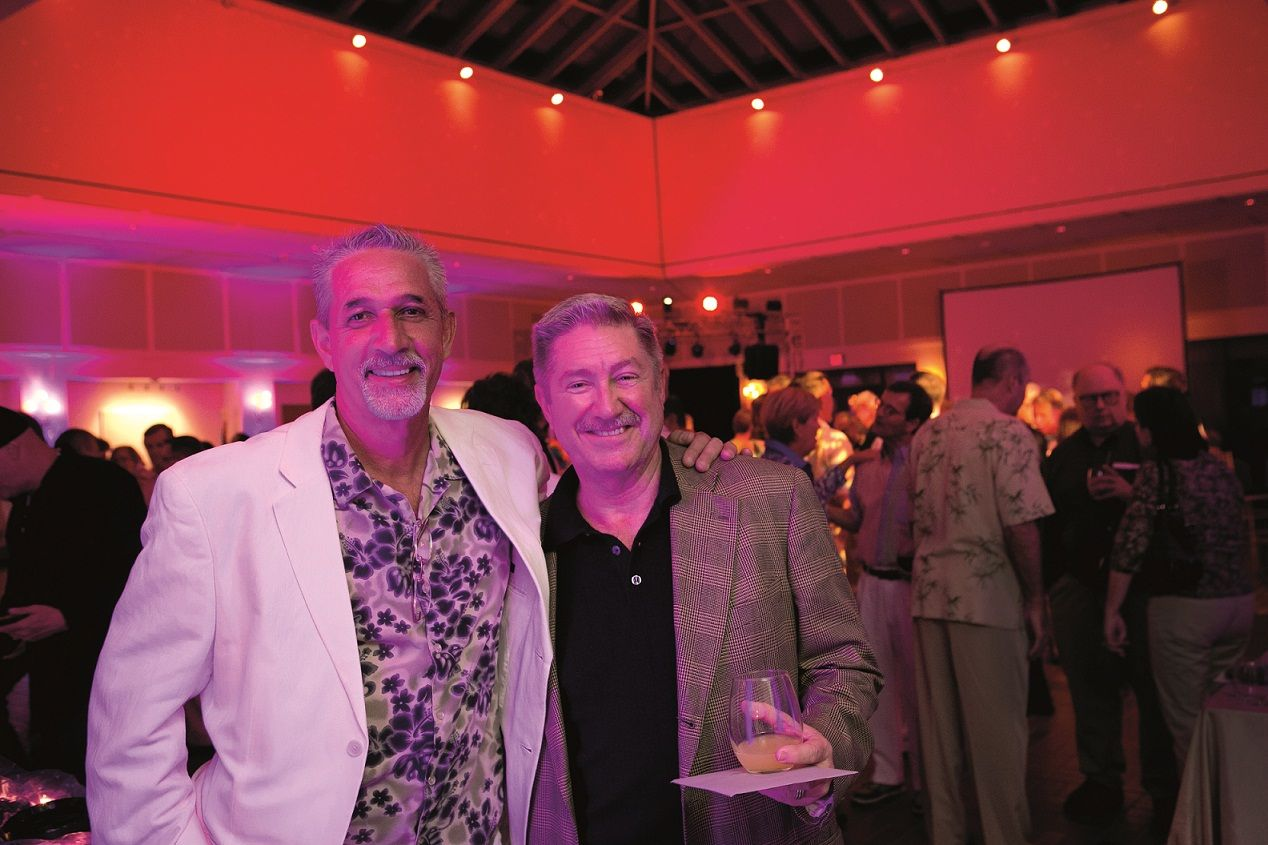 """Life of a Party"": Farewell bash for Harvey Owen of The Ware Center (July 2014 issue; photo by Nick Gould)"