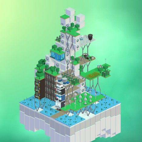 Video Games For Urban Planning Dezeen Magazine Block Hood