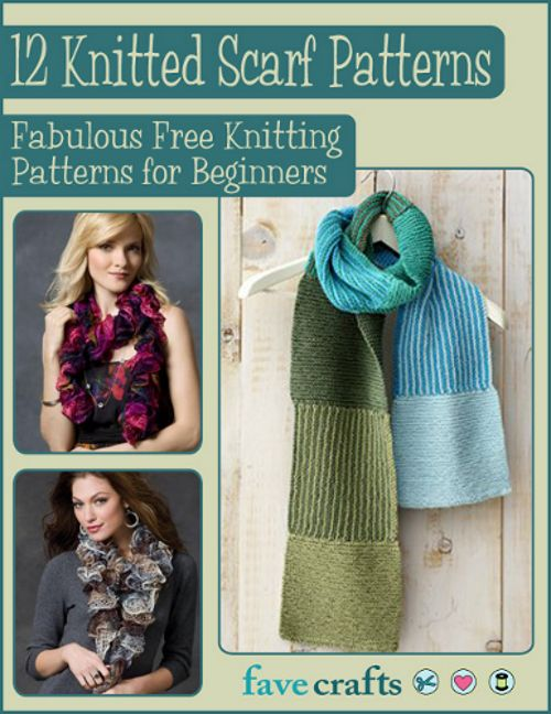 12 Knitted Scarf Patterns: Fabulous Free Knitting Patterns for ...