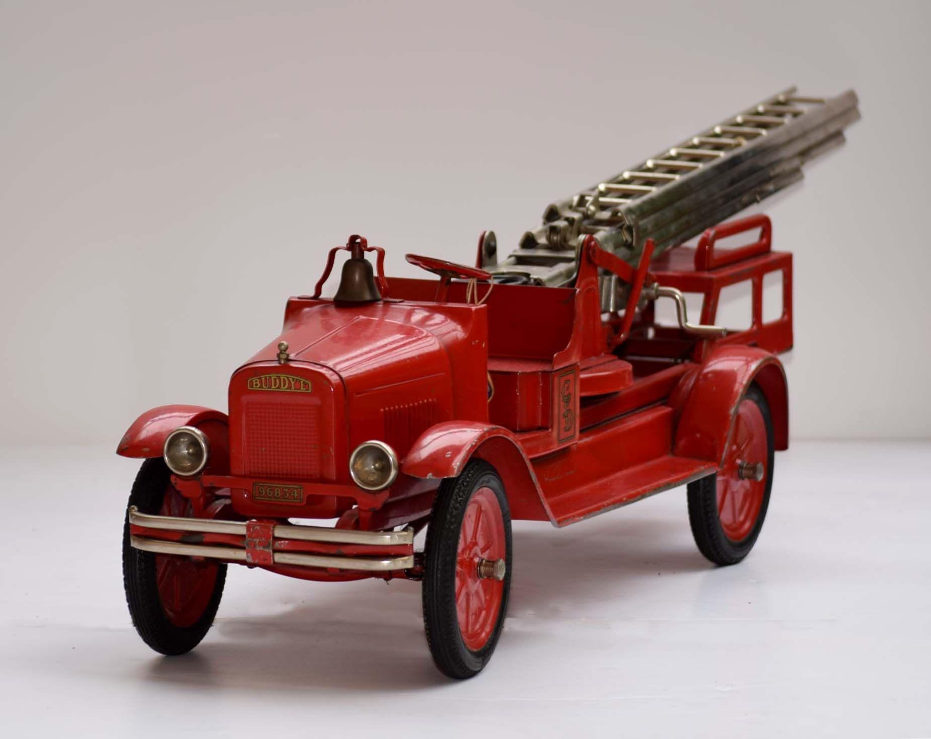 Free Antique Buddy L Fire Truck Price Guide | Americana ...