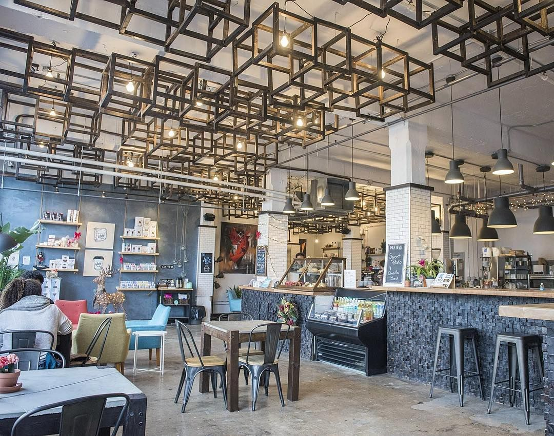 18 Hidden Toronto Cafes You And Your Bff Absolutely Need To Discover This Spring Narcity Coffee Shop Interior Design Coffee Shops Interior Coffee Shop Design