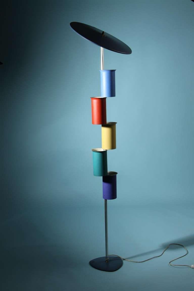 Floor Lamp, Attributed To Simon Henningsen, Denmark, 1950\'s | From a ...