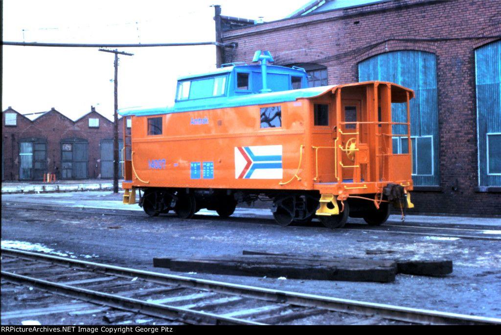 Amtrak cabin car 14007