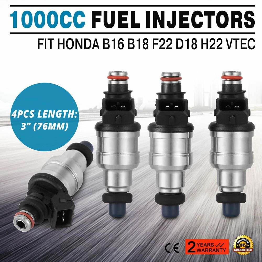 Honda Acura b16 d16 b18 850cc Fuel Injectors OBD2 B D H F Series Civic Integra