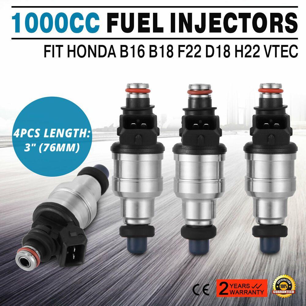 EBay #Sponsored Pop 1000cc Fuel Injectors For Honda Acura