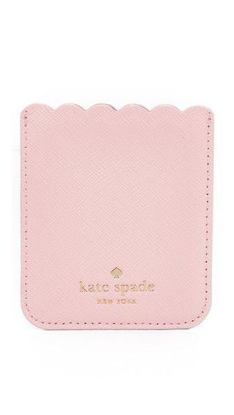 info for d58c4 e2dd1 KATE SPADE Scallop Sticker Phone Pocket. #katespade #pocket | Kate ...