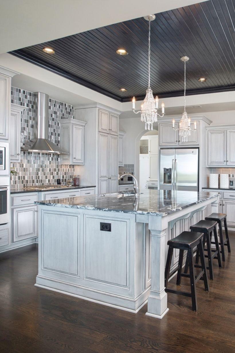 50 Pretty Kitchen Ceiling Lighting Design Ideas Http Kemiridecor Com 50 Pretty Kitchen Kitchen Ceiling Design Interior Design Kitchen Kitchen Ceiling Lights Kitchen ceiling design ideas