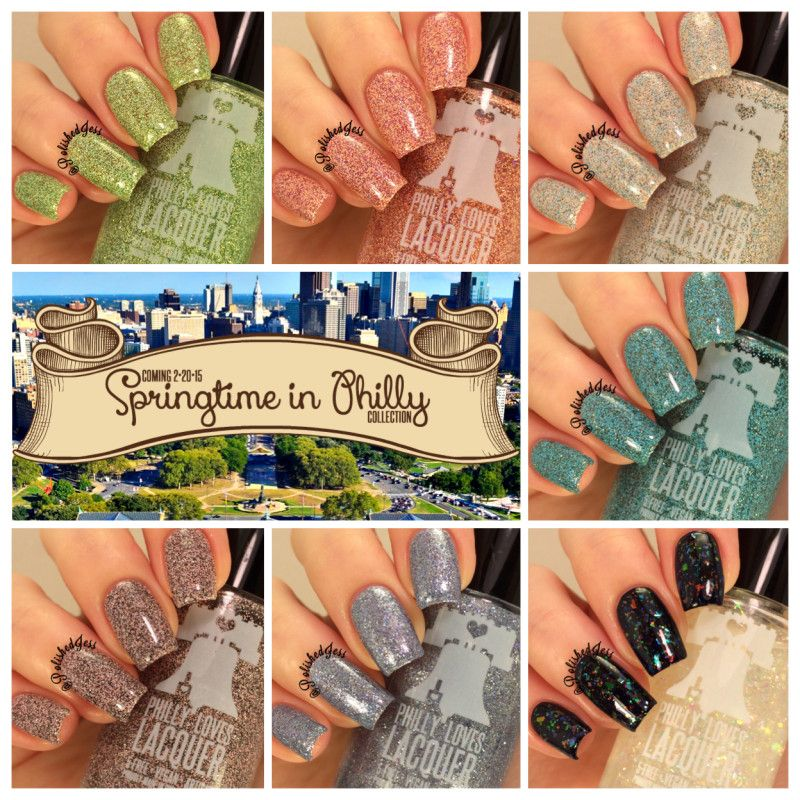 Springtime in Philly Nail Polish Full Collection | Philly Loves Lacquer