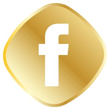 Golden Facebook Icon Png And Vector Facebook Icons Facebook Icon Png Logo Facebook