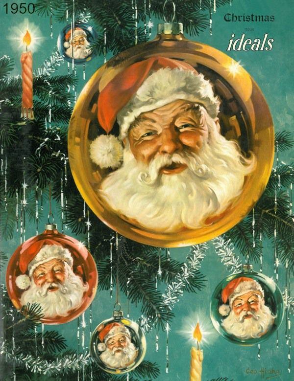 1950 Christmas Ideals _ classic Hinke artwork on
