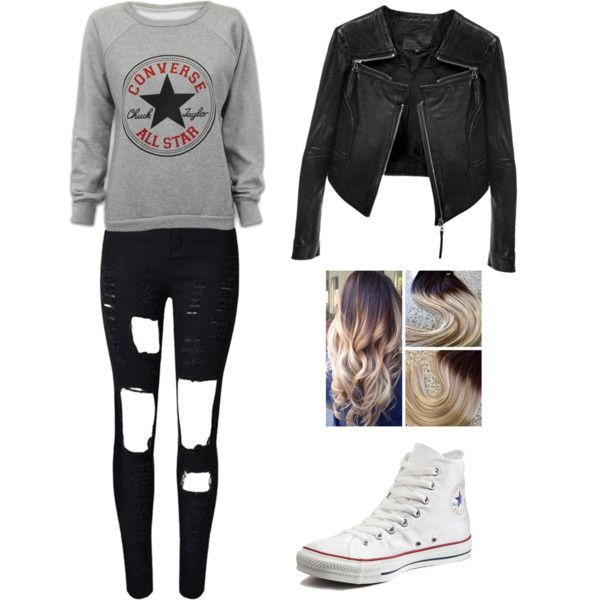 Love converse by angela229 on Polyvore featuring moda