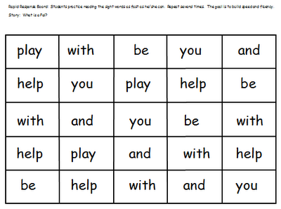 sight words for 1st grade