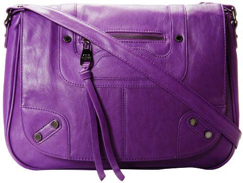 Steve Madden Bvalian Messenger Bag Gorgeous Purple
