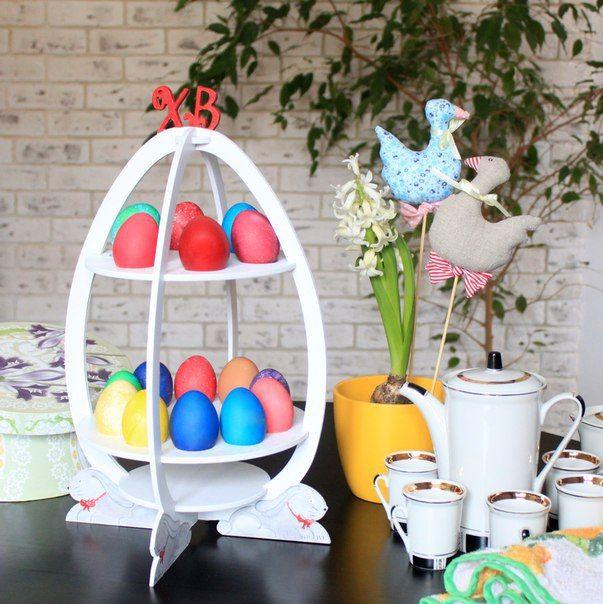 Мастер-класс по созданию подставки для пасхальных яиц ...