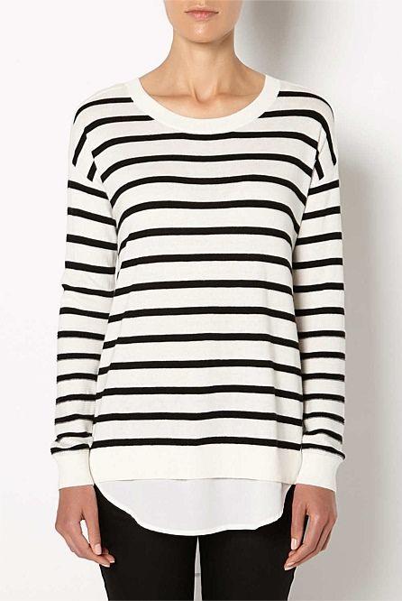 Shop Women's Clothing | Witchery Online - Spliced Underlay Knit ...