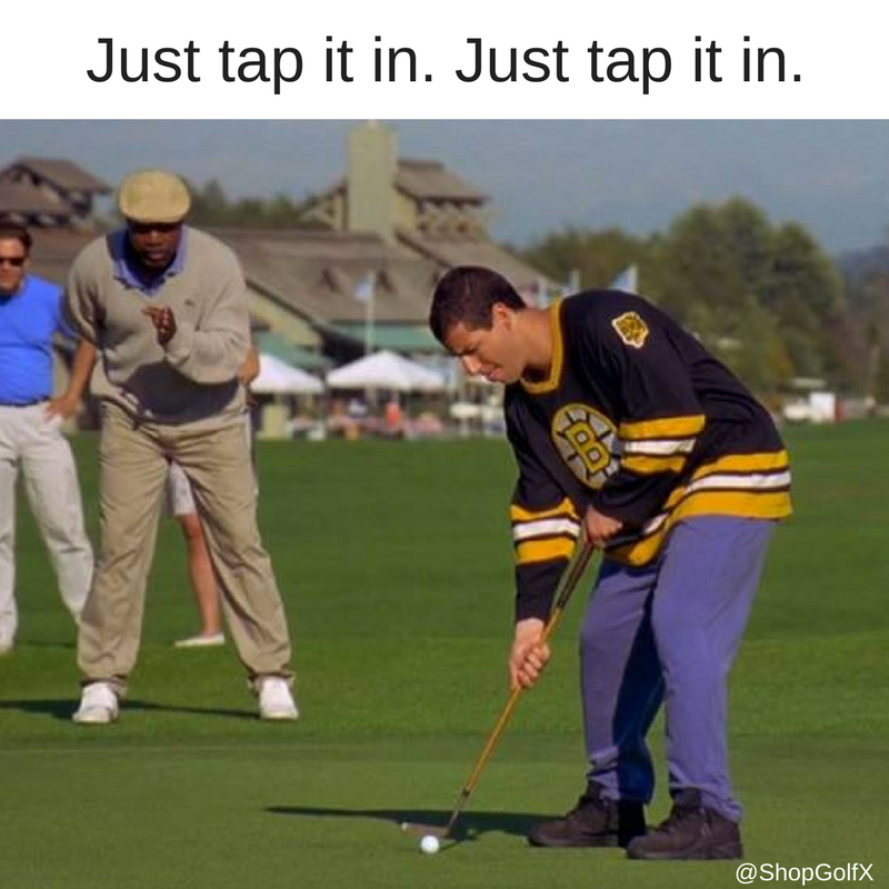 Golf Quotes From Movies: Just Tap It In. Just Tap It In #golfing #MovieQuotes
