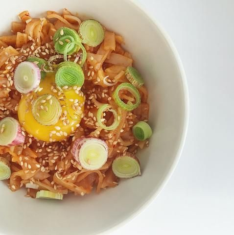 Pad Thai Kimchi Spicing Up Valentine S Day With Mother In Law S Kimchi Noodle Recipes Easy Pad Thai Vegetarian Recipes