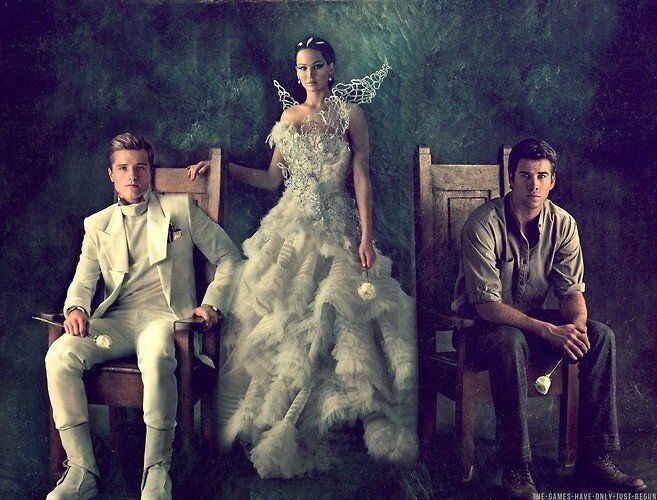 katniss peeta and gale