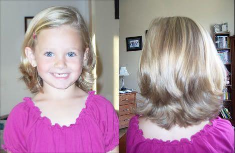 hair style 6 year