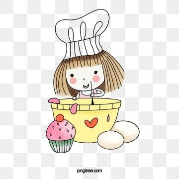 Gambar Kartun Wanita Png Keren 30 Gambar Chef Wanita Berhijab Kartun Chef Png Vector Psd