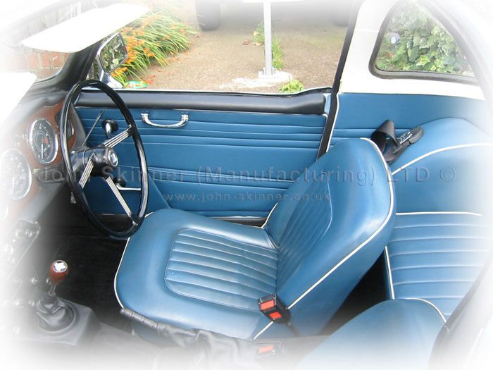 Tr4a Irs Front Seat Covers Door Panel Quarter Panel Wheel