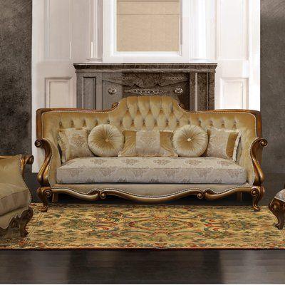 Best Astoria Grand Phillippi Standard Sofa Living Room Decor 640 x 480