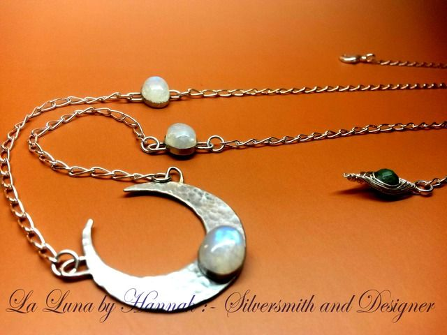 Image for Luna inspired belly chain with moonstones