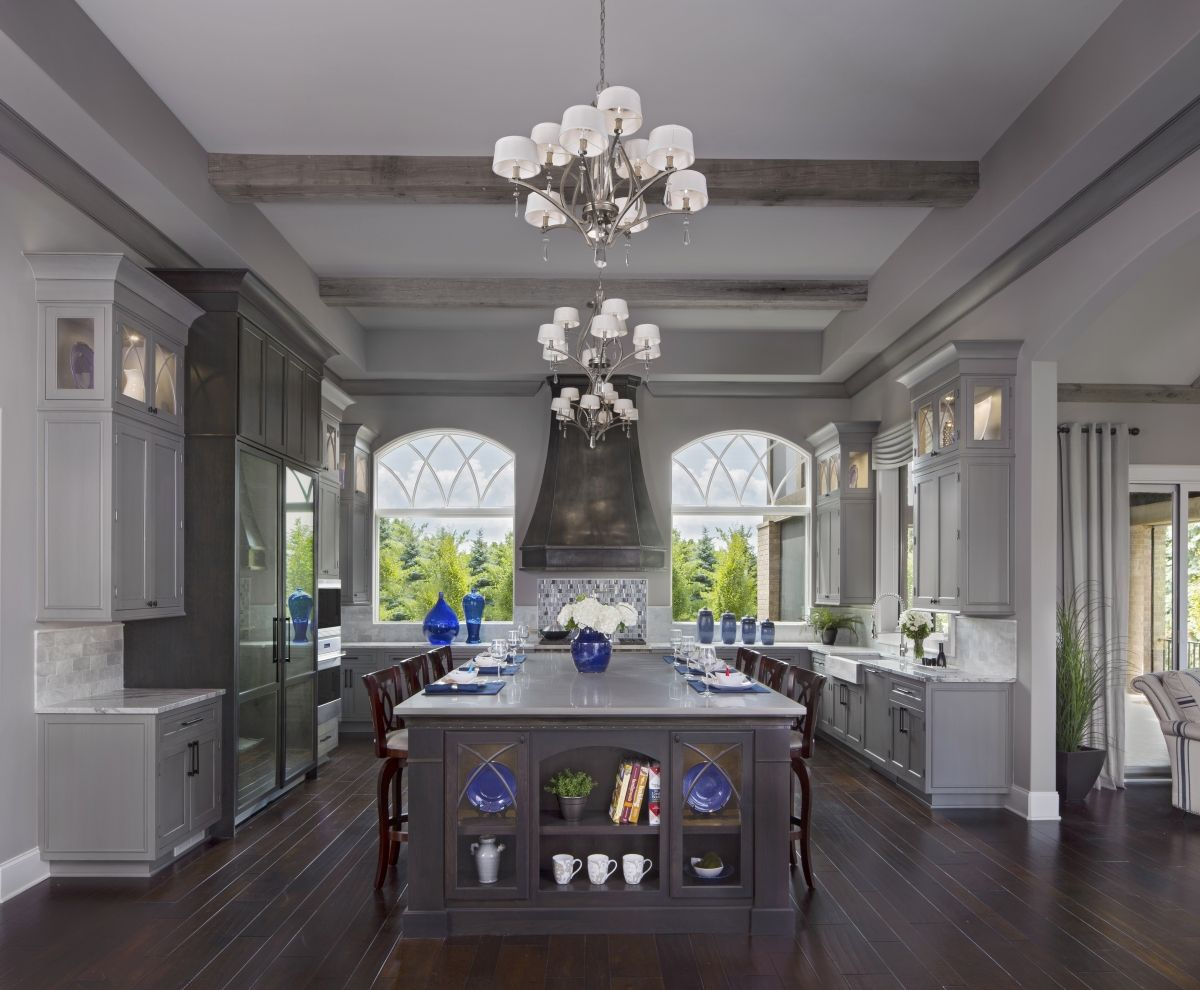color trends navy blue is on the rise blue kitchen cabinets galley kitchen design blue on kitchen decor navy id=86413