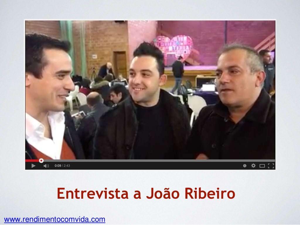 Entrevista a João Ribeiro by Paulo Pedro lml via slideshare