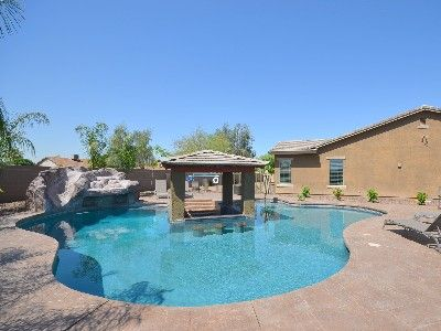 swimming pools with slides and waterfalls house rental pool with swim