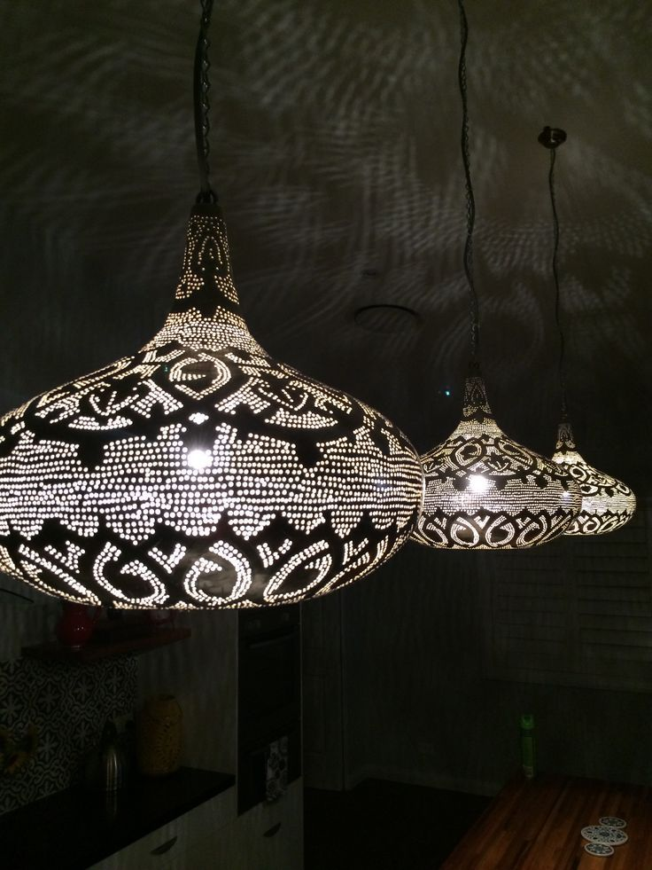 Amazing Egyptian Pendant Lamps Make For A Sensational Look Of Punched Metal