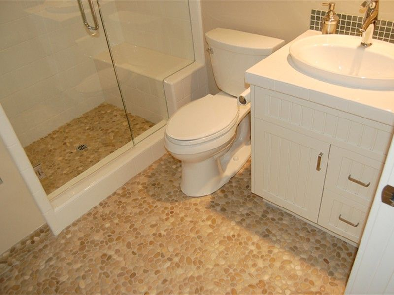 A shower with a seat in the guest bathroom would be ideal to ...