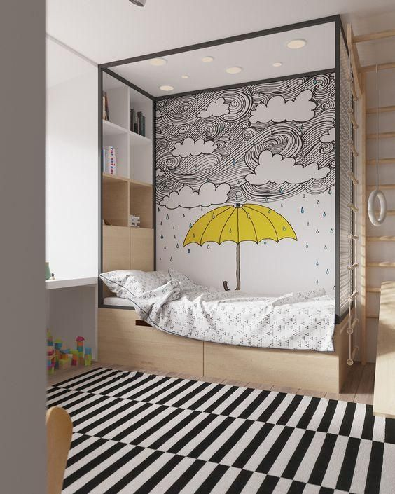 Photo of Kinderzimmer: 65 Ideen von Umgebungen mit Fotos dekoriert – Neu dekoration stile