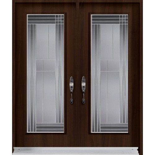 Double Entry Door From Prestige Collection With Lounge Decorative