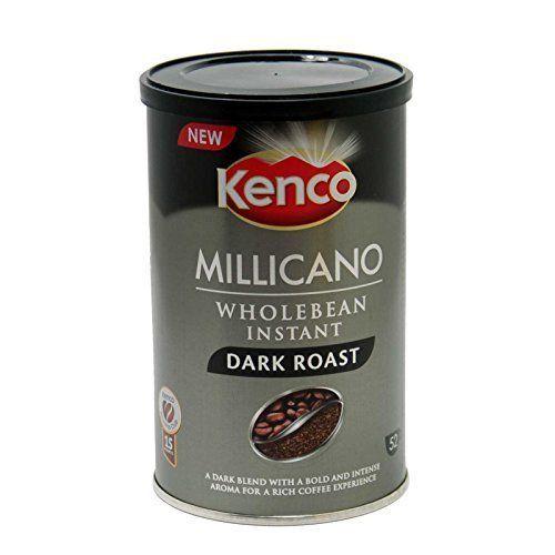 Kenco Millicano Whole Bean Instant Dark Roast Coffee 95g