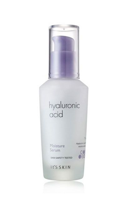 Hyaluronic Acid Hyaluronic acid is a strong hydrating complex that's naturally present everywhere in the body, but almost half of the body's hyaluronic acid is located in the collagen of skin. Hyaluronic acid helps retain over 1,000 times its weight in water within the cells of skin. No other biological substance comes close, which is why the skin-care industry, has lost it over this ingredient. In Korea, women aren't just applying it to their skin, they're drinking it