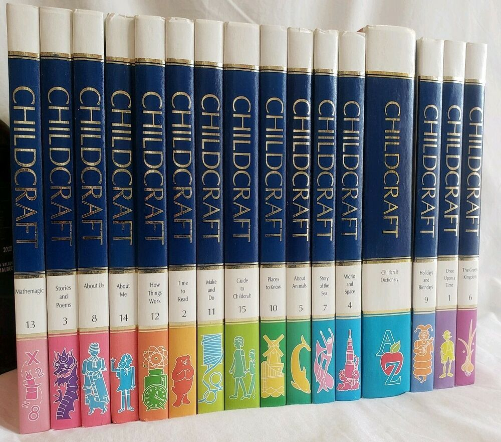 Childcraft how and why library complete set 1990