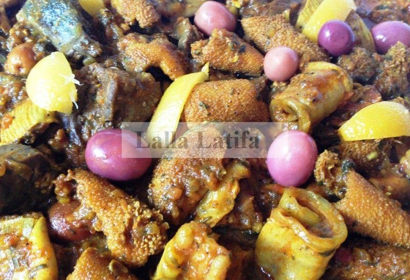 Les secrets de cuisine par Lalla Latifa -   Tkkalya