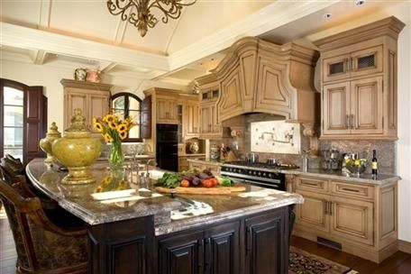 French Country Kitchen Designs Photo Gallery kitchen idea of the day: this timber-frame kitchen features a