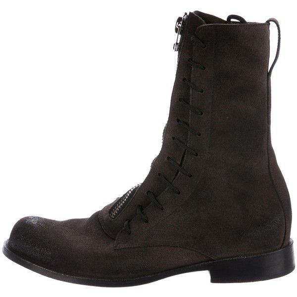 Pre-owned - Leather boots Esquivel gF7lUd50
