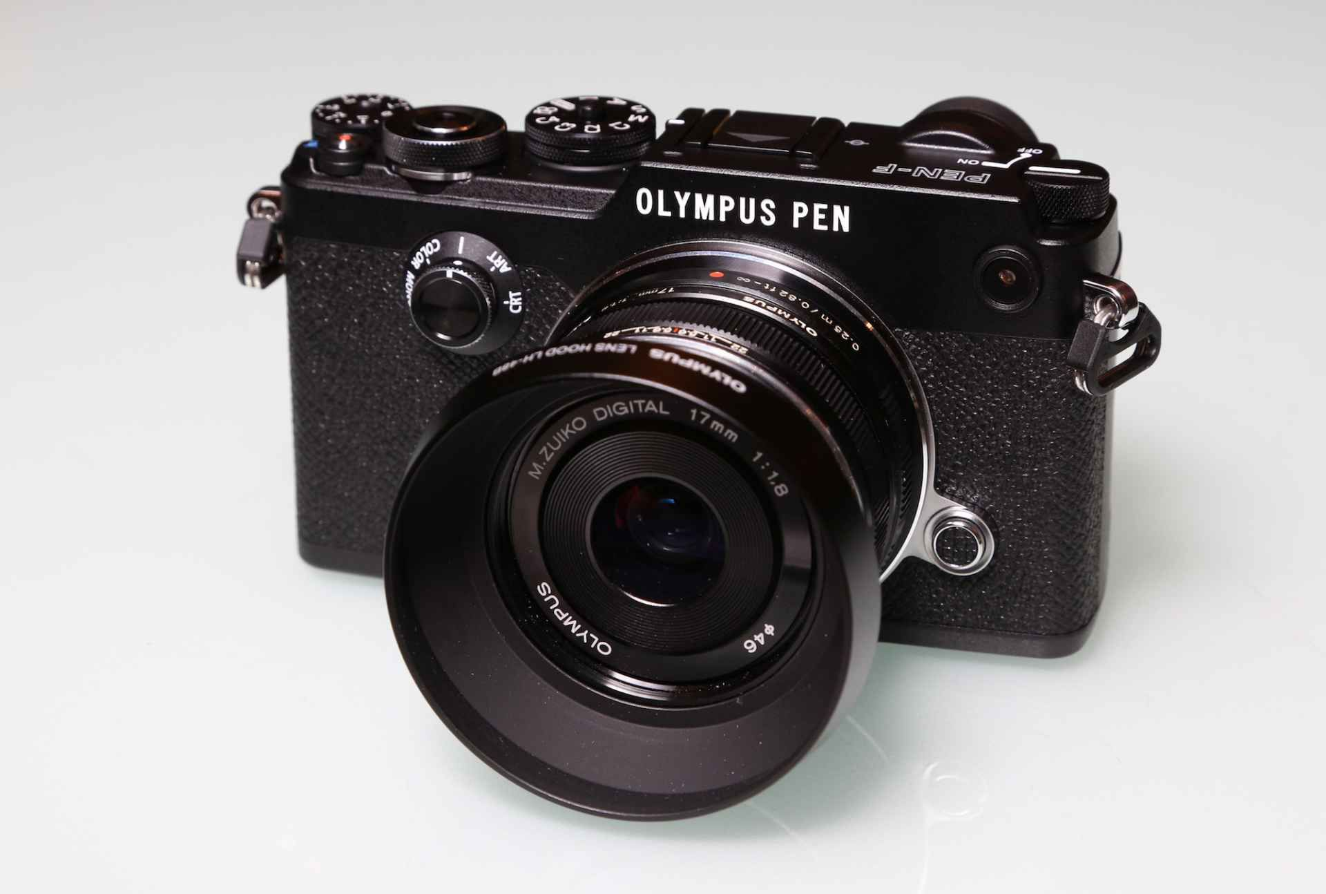 The new Olympus Pen-F is keeping the retro feel alive in the camera world.