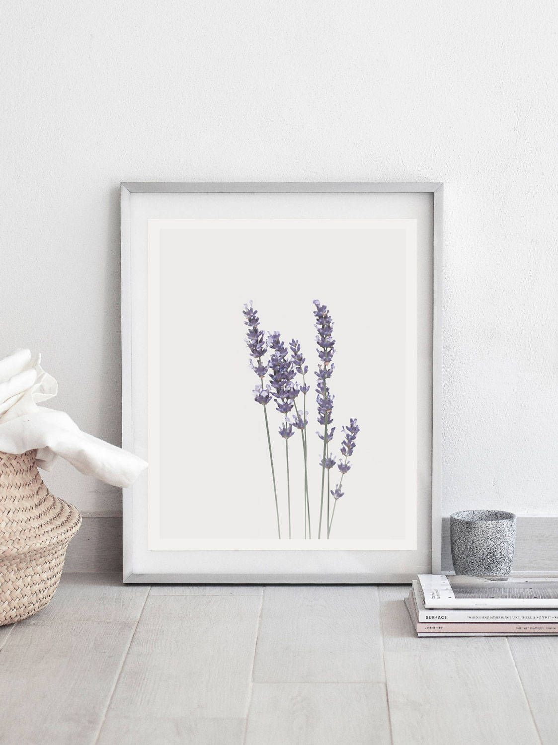 Lavender Printwatercolour Printbotanical Printlavender Wall Etsy Botanical Wall Art Flower Wall Art Lavender Walls