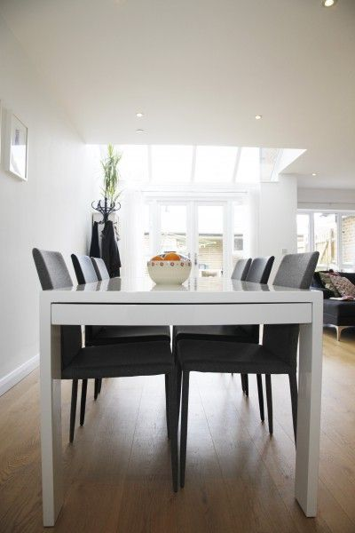 Liron's home has been styled with our Scarpa Dining Chairs in Black and Light Grey