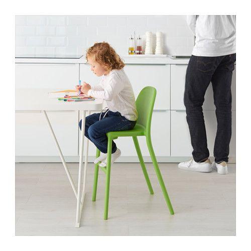 Urban Chaise Junior Vert Cute Desk Chair Counter Height