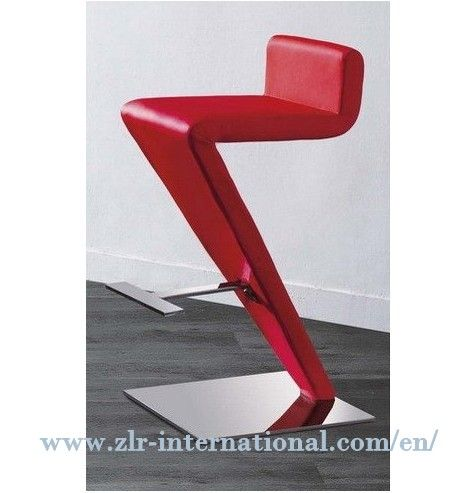 Z Shape Soft Pu Leather Bar Chair Z L R Asia International