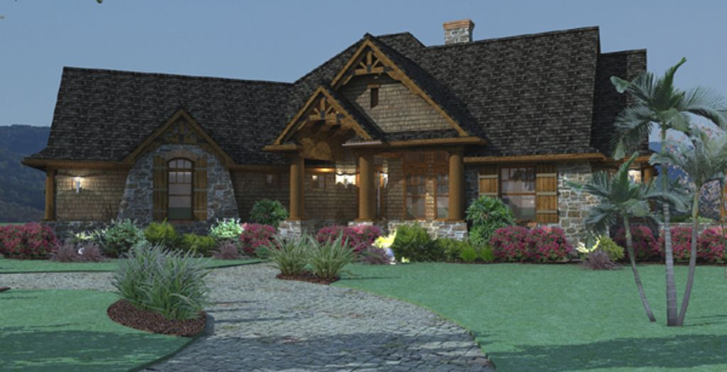 Craftsman photo plan 120 171 1800sq ft for Houseplans com craftsman