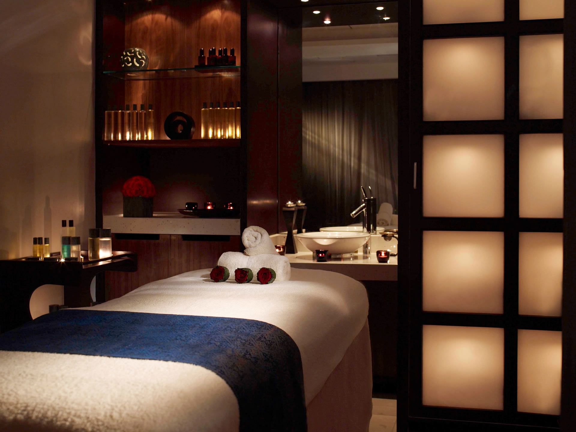 With a spa and health club featuring a swimming pool, four ...