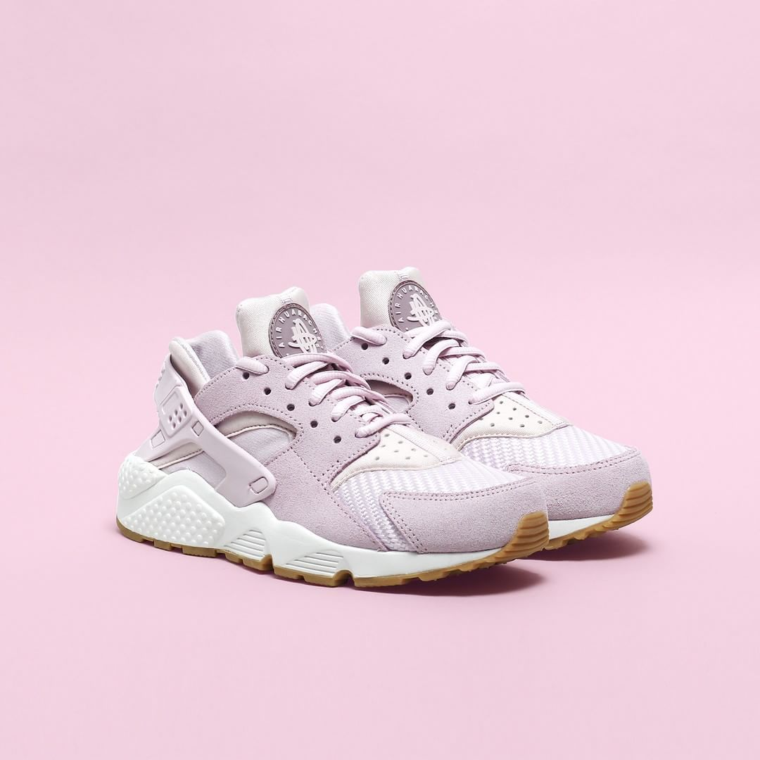 separation shoes 27739 5f511 BLEACHED LILAC The Nike Air Huarache Run TXT is now available at  Nakedcph.com!  SupplyingGirlsWithSneakers