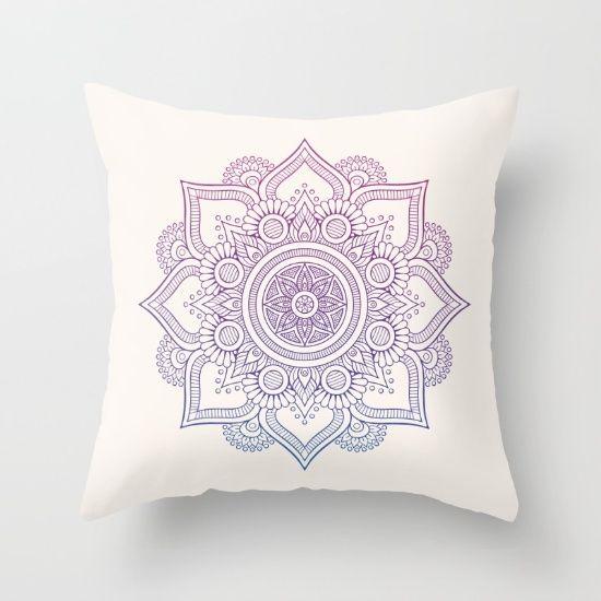 mandala throw pillow // cushion // home decor // bedding ...