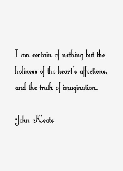 John Keats Quotes & Sayings | Keats quotes, John keats